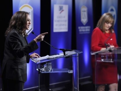 Kamala Harris Loretta Sanchez Debate (Mark J. Terrill / Associated Press)