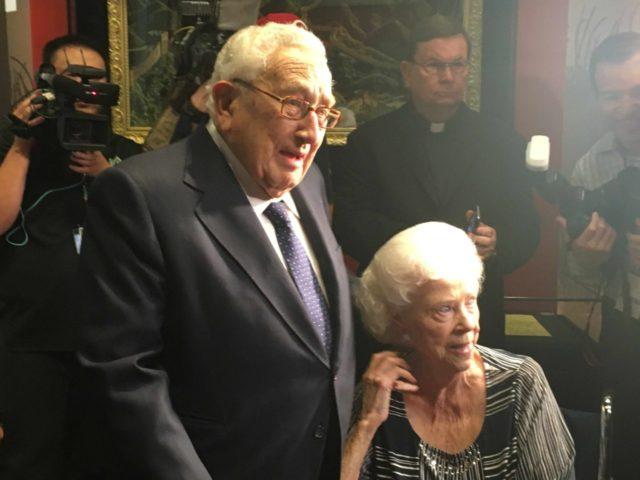 Kissinger at Nixon Library (Adelle Nazarian / Breitbart News)