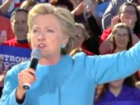 WATCH: Hillary Clinton's Voice Cracks During 'Love Trumps Hate' Chant