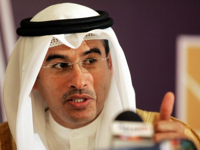The chairman of Dubai's Holding and Emirates real estate company Emaar, Mohamed Ali Alabbar, speaks during a press conference in Riyadh 09 May 2006. Emaar Middle East (EME), a joint venture between UAE-based Emaar Properties and Saudi-based real estate company Al-Oula Development, announced today the developmentof Jeddah Hills, an 11-billion-dollar …