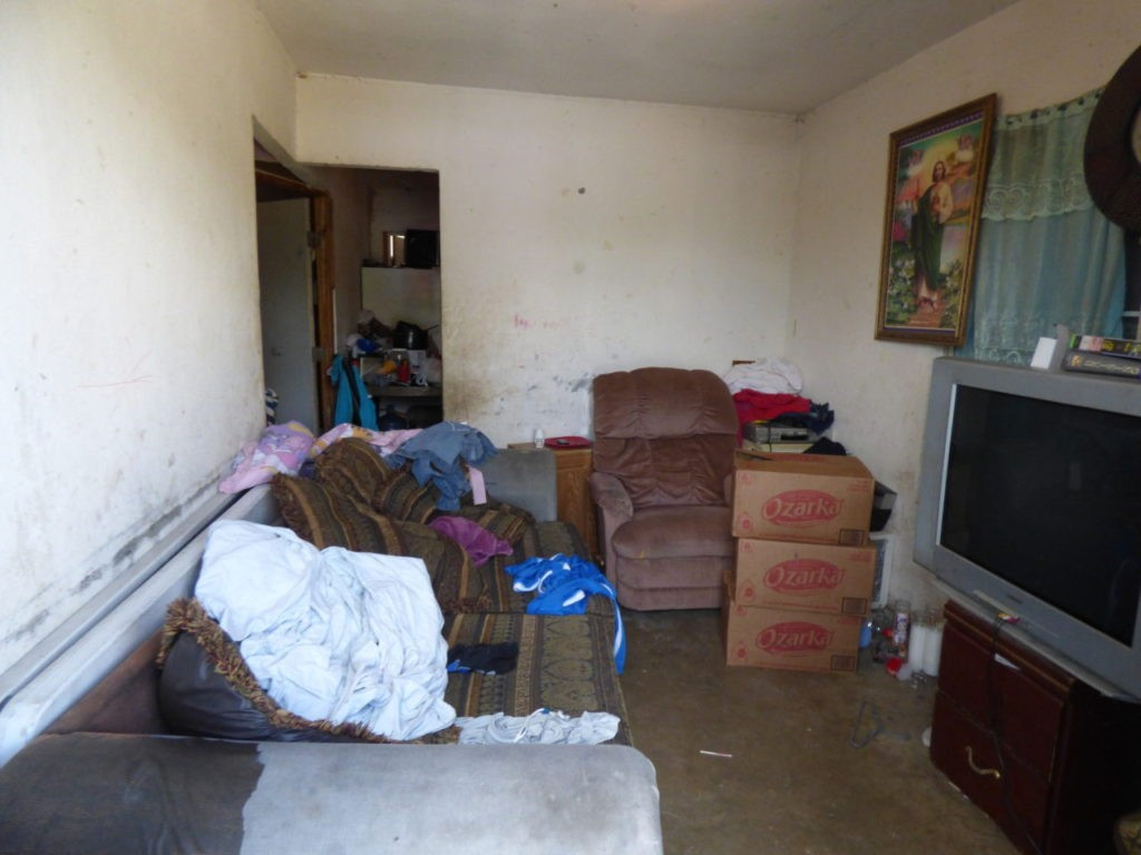 """Deplorable"" stash house discovered in Hidalgo County. (Photo: U.S. Border Patrol)"