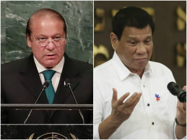 Pakistan PM and Philippines President