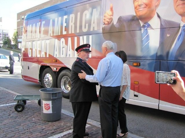 Republican VP hopeful visits ABQ campaigning for Trump