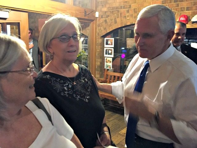 Pence with Ladies