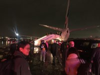Pence Plane Slides off Runway at LaGuardia Airport