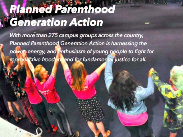Planned Parenthood Generation Action