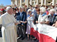 Pope Auschwitz survivors AP
