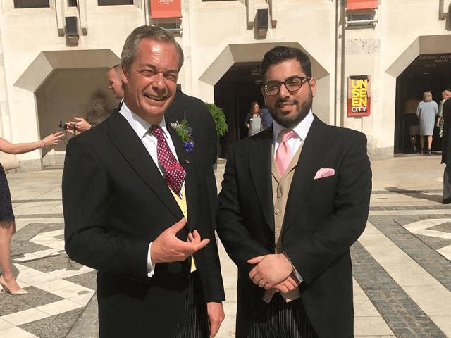 Raheem Kassam Nigel Farage