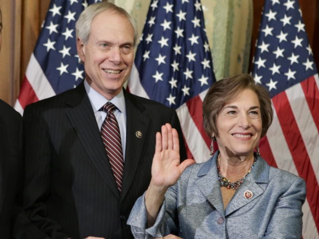 Robert Creamer and Jan Schakowsky (J. Scott Applewhite / Associated Press)