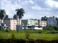 A Russian radar station is seen in Lourdes, about 12 miles south of Havana, Cuba Wednesday Oct. 17, 2001. Gen. Anatoly Kvashnin, head of the armed forces' General Staff said Wednesday in Moscow that Russia would dismantle its radar stations in Lourdes as part of cutting back military installations abroad. …