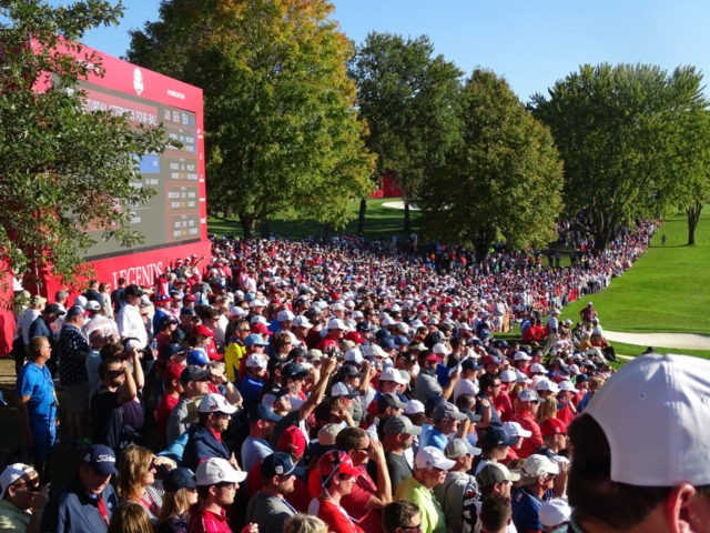 Ryder Cup Crowd 2016