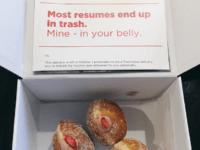 Donut resume (Lukas Yla / Twitter)