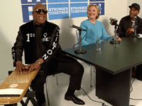 Stevie Wonder Sings 'Happy Birthday' To Hillary Clinton