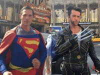 Superman vs. Wolverine (Adelle Nazarian / Breitbart News)