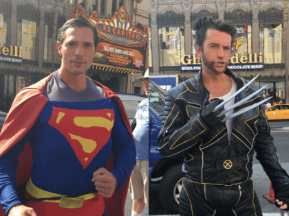 Superman vs. Wolverine: Superheroes Battle over Trump Star Vandalism