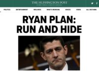 HuffPost: Paul Ryan, Donald Trump Heading for Political Collision