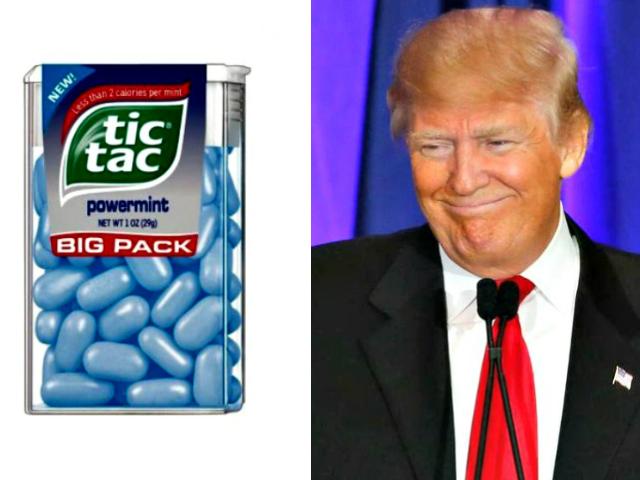 Tic Tacs and Trump