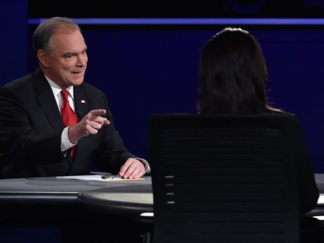 Tim Kaine Elaine Quijano (Paul J. Richards / AFP / Getty)
