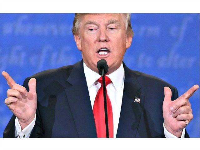 Trump Debate Saul LoebAFPGetty