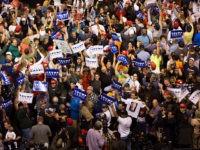 Trump-Rally-Wilkes-Barre-PA-ChantingCNNSucks-Getty