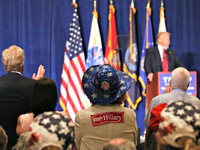 Trump Virginia Beach Mark WilsonGetty