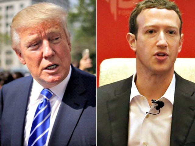 Trump and Zuckerberg