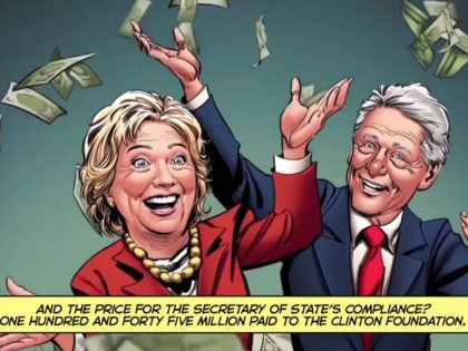 Exclusive: 'Clinton Cash: A Graphic Novel' Ad Shows How Hillary Clinton Helped Transfer U.S. Uranium to Russia