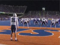 Thursday night, BYU faced a 4th-and-19 from its own five-yard …