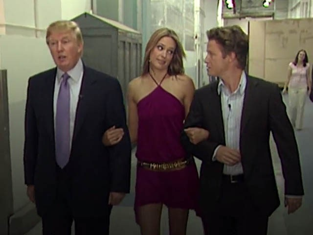 Donald Trump / Billy Bush / Arianne Zucker
