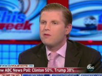 Eric Trump on His Father's Response to Accusers: 'He's a Great Fighter'