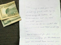 Woman Surprised When Stolen Car Is Returned with Apology Note, Gas Money