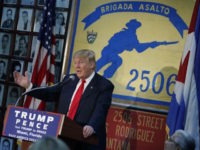 Donald Trump Receives Bay of Pigs Veterans Association's First Ever Endorsement
