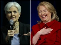 Jill Stein and Hillary Clinton