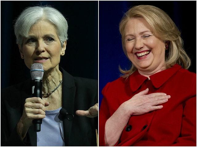 Jill Stein and Hillary Clinton