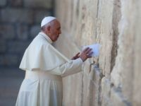 Pope: God Promised The Holy Land To The People Of Israel