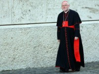 VATICAN CITY, VATICAN - FEBRUARY 21: German cardinal Reinhard Marx arrives at the Paul VI Hall for the Extraordinary Consistory on the themes of Family on February 21, 2014 in Vatican City, Vatican. Pope Francis will create 19 new cardinals during his first consistory on February 22, 2014. (Photo by …
