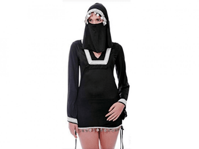 Sexy women in burkas