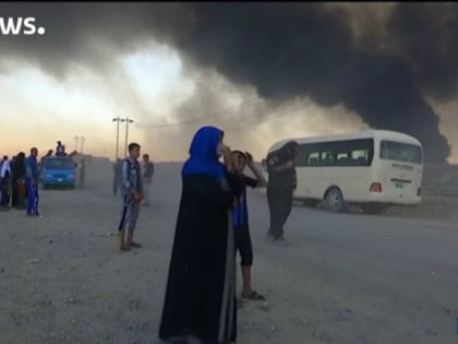 Video: At least two Dead, Hundreds in Agony After Islamic State Sets Chemical Plant Ablaze in Iraq