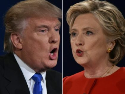 Donald Trump and Hillary Clinton engaged in a pre-dawn Twitter match over former Miss Universe Alicia Machado, who claims Trump bullied her mercilessly after she won his beauty pageant in 1996
