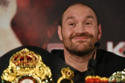 British heavyweight boxer Tyson Fury has made an abrupt U-turn on his decision to retire