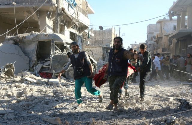 Aleppo is reeling from some of the most brutal fighting in the five-year Syrian conflict