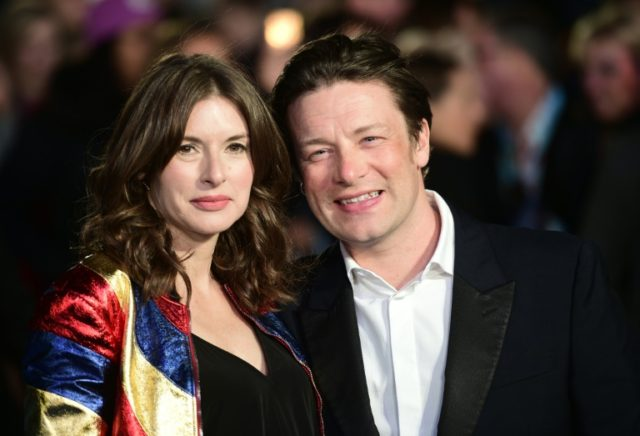 British chef Jamie Oliver (R) faced an immediate avalanche of hostility after posting a paella recipe with chorizo