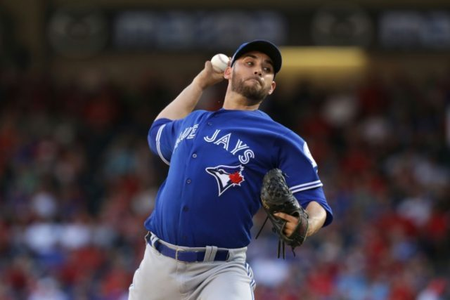 Marco Estrada of the Toronto Blue Jays struck out six, didn't walk a batter and threw just 98 pitches