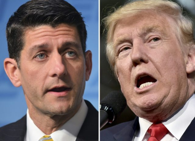 Donald Trump has suggested that if he wins the November presidential election, Paul Ryan would lose his House speaker job