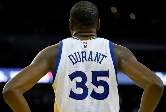 Kevin Durant of the Golden State Warriors called the defeat a 'slap in the face'