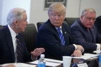 Donald Trump, Jeff Sessions, Keith Kellogg