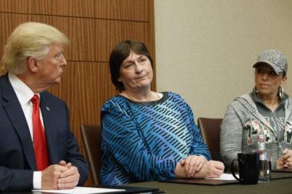 Donald Trump, Paula Jones, Kathy Shelton,