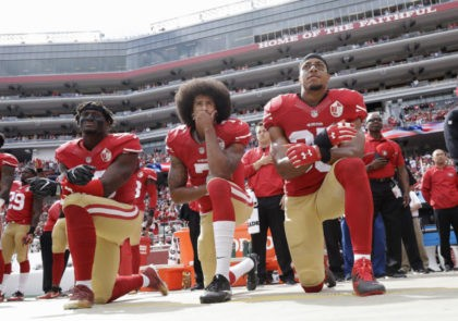 Yahoo! Poll: Fans Not Watching NFL, Kaepernick Protests Primary Reason