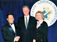 Bill, Hillary and James Riady