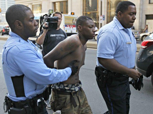Black Cop, Black Suspect AP